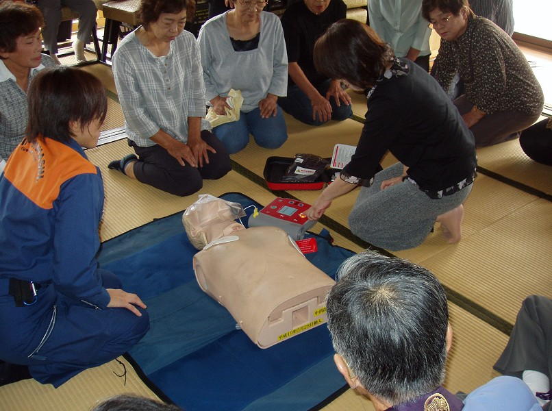 初級救命講習2
