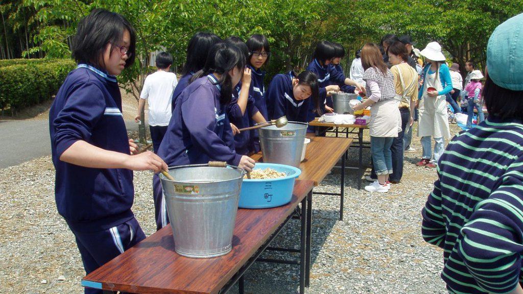 筍食事会2