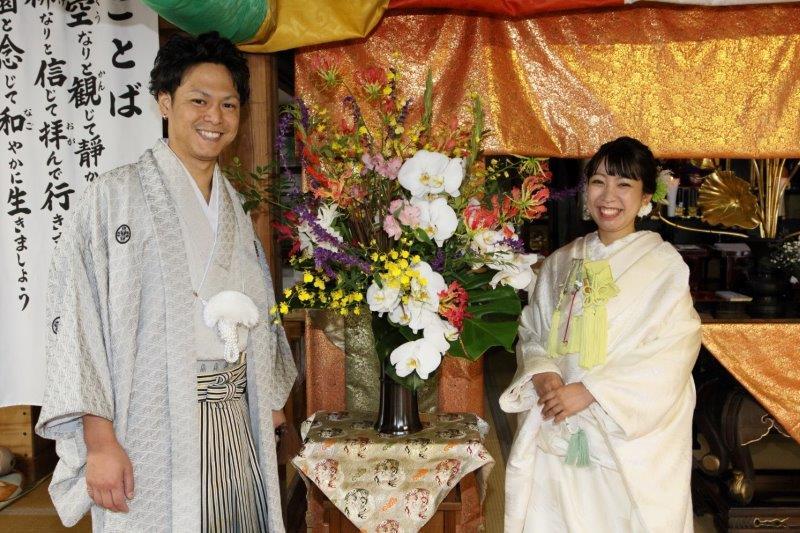 仏前結婚式10