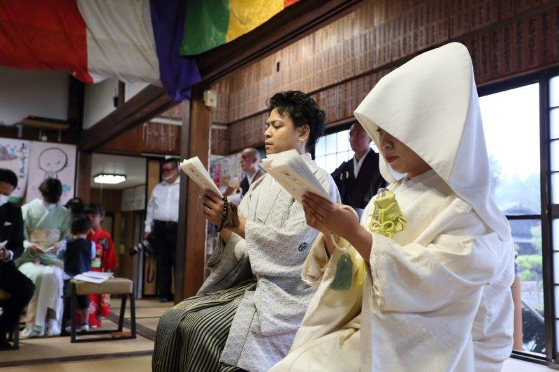 仏前結婚式8