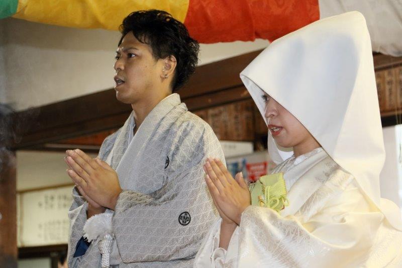 仏前結婚式4